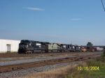 NS 9483 leads five unit lashup on NS train 341