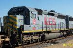 Trailing unit KCS 627 on NS train I20