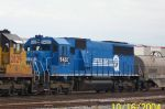 Closeup of ex Conrail 5422 on NS train 329