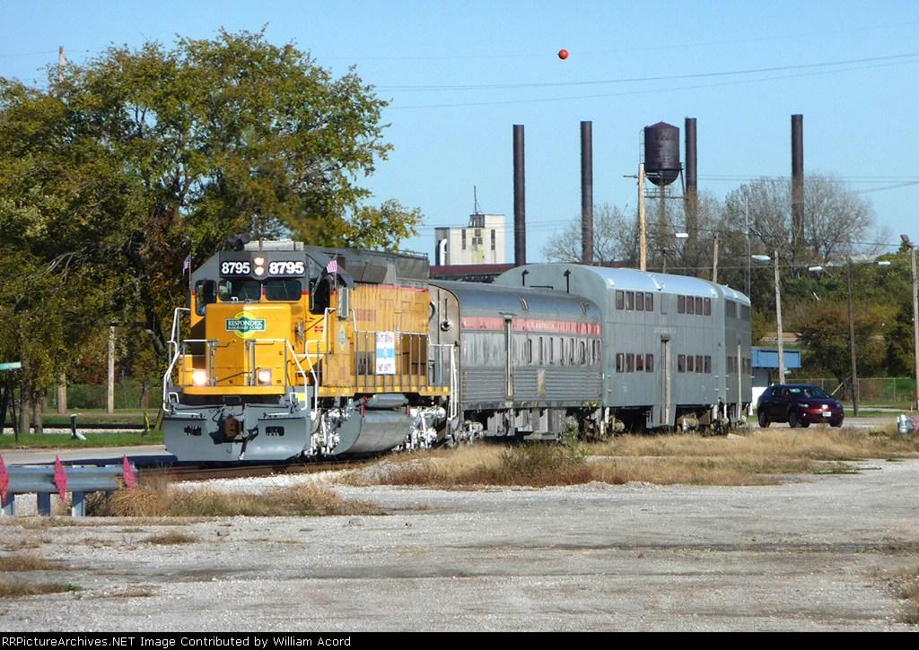 "Respondek RRC #8795 Providing Power For ""Thomas The Tank Engine"""