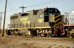 Gateway Western GP 38 at rest in the East St. Louis KCS yard