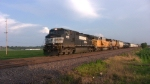 Norfolk Southern 9175 Manifest on UP Chester Sub in Columbia, IL(May 31, 2010)