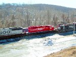 CP/D&H train arriving in Allentown