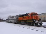 070227001 BNSF eastbound inspection train