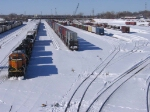 070303002 BNSF Northtown Transfer Yard after winter storm
