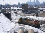 "070310005 Inbound light power goes through hump ""tunnel"" at BNSF Northtown"