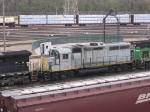 07042501 FURX 1175 stored at BNSF Northtown Boondocks