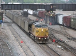 07052921 Southbound UP coal empties roll through BNSF Northtown CTC 35th