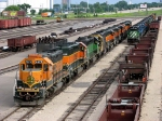 "07060103 Diesel deadline expands at BNSF Northtown ""T"" Yard"