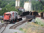 070710002 CP/SOO light engine movement near bridge replacement project over BNSF Northtown CTC 35th