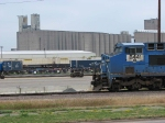"070723003 NS power dominates at UP's East Minneapolis ""Triple Crown"" terminal"