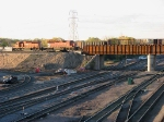 071022026 Westbound CP freight crosses new bridge over BNSF Northtown Yard