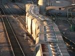071022033 BNSF Grove switch job departs Northtown Yard