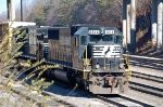 NS 6614 (SD60), ex Southern at the Montview yard