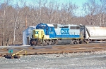 CSXT 6440 (GP40-2), ex Baltimore & Ohio 4426(GP40-2) at the Sandy Hook Yard