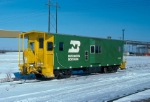 BN bay window caboose