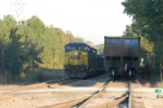 loads and empties meet at newberry siding