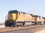 UP 9084 leads a WB intermodal at 1:41pm