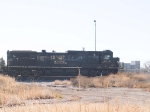 NS 8842 waits for a light with his WB intermodal at 2:45pm