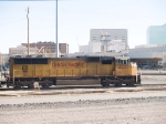 UP 4225 lead in a WB intermodal at 3:45pm