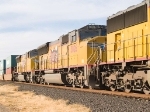 UP 3826 #2 power in EB intermodal at 3:58pm