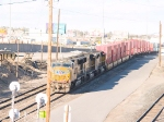 UP 4925 leads a WB intermodal at 4:26pm (waiting for svc)
