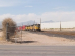UP 3788 leads an EB doublestack at 2:07pm