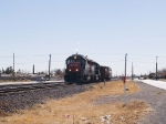SSW 7285 leads a WB local manifest at 10:10am