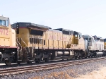 UP 9495 #3 power in WB manifest at 11:02am