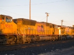 UP 5157 #3 power in WB stack at 5:51pm