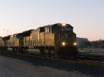 UP 4838 leads an EB stack (KCIAT) at 6:07pm