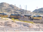UP 8360 #3 power in EB stack train at 9:25am