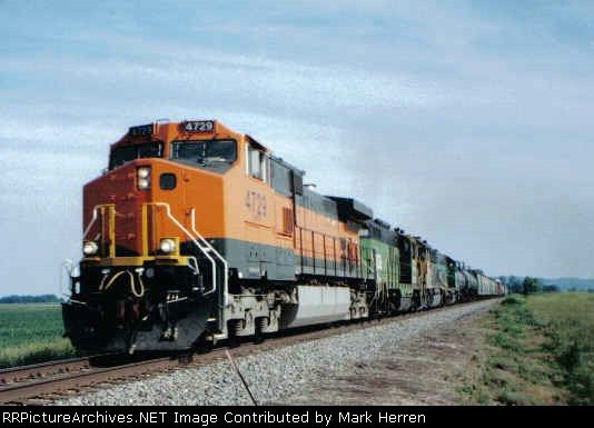 BNSF 4729 East
