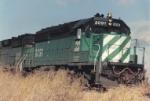 BN SD40-2