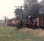 Empty Cajun Electric Train