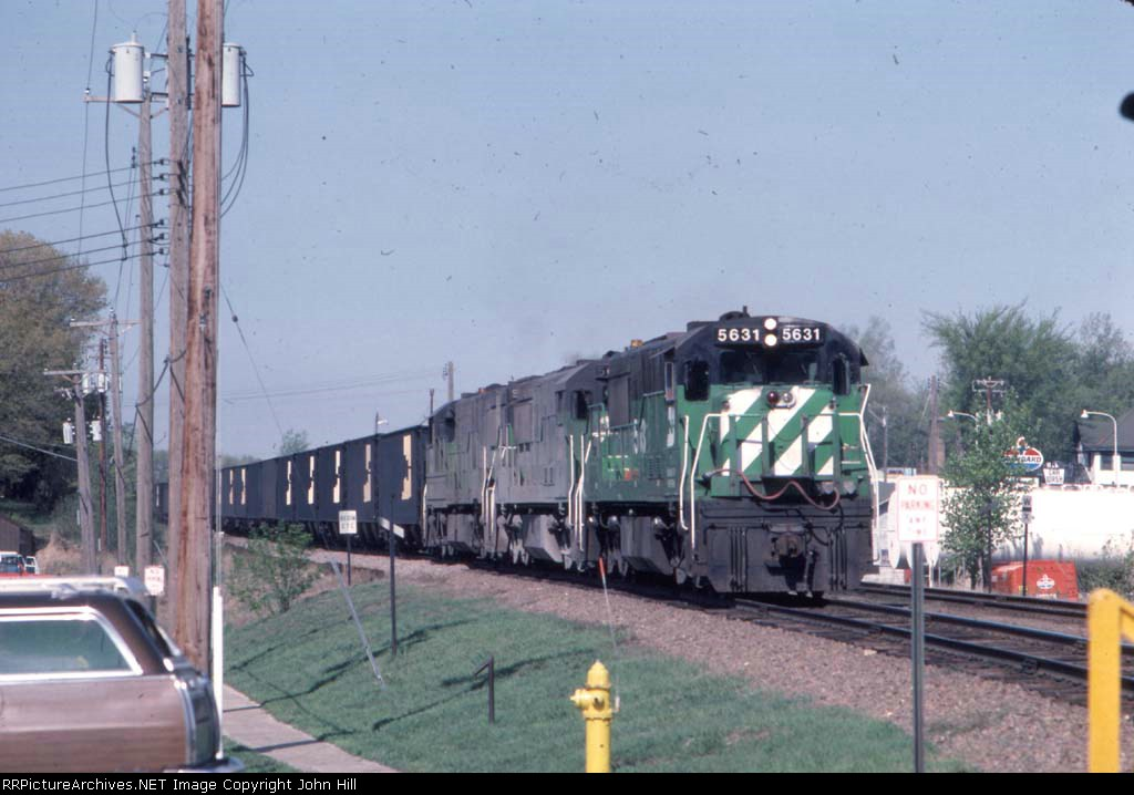 1046-02 Eastbound BN coal train