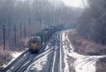 1033-18 Westbound BN freight passing St. Croix Tower