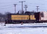 1034-36 CNW 1009 at E. Mpls Yard