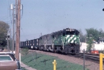 1046-02 Eastbound BN coal train