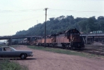 1057-12 Eastbound MILW freight arrives at Pigs Eye Yard