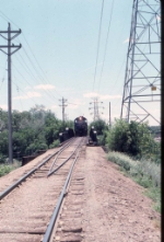 1071-19 Northbound MNS freight crossing MILW/CNW