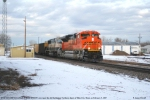 BNSF 9354 West (SD70ACe)