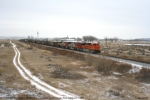 BNSF 9398 (SD70ACe) near Ft. Keogh curve