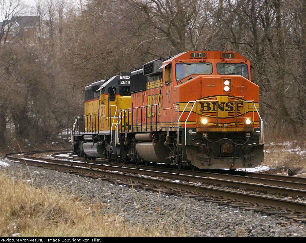 Heading north on the Lehigh Line
