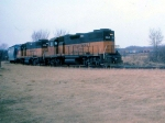 1419-08 MILW Shakopee local rounds wye from CNW/Louie to CNW Omaha