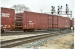 UP-WP autoparts boxcar
