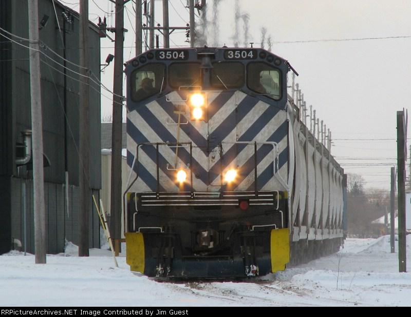 LSRC 3504 at Death Curve