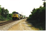 CSX 609 takes intermodal south
