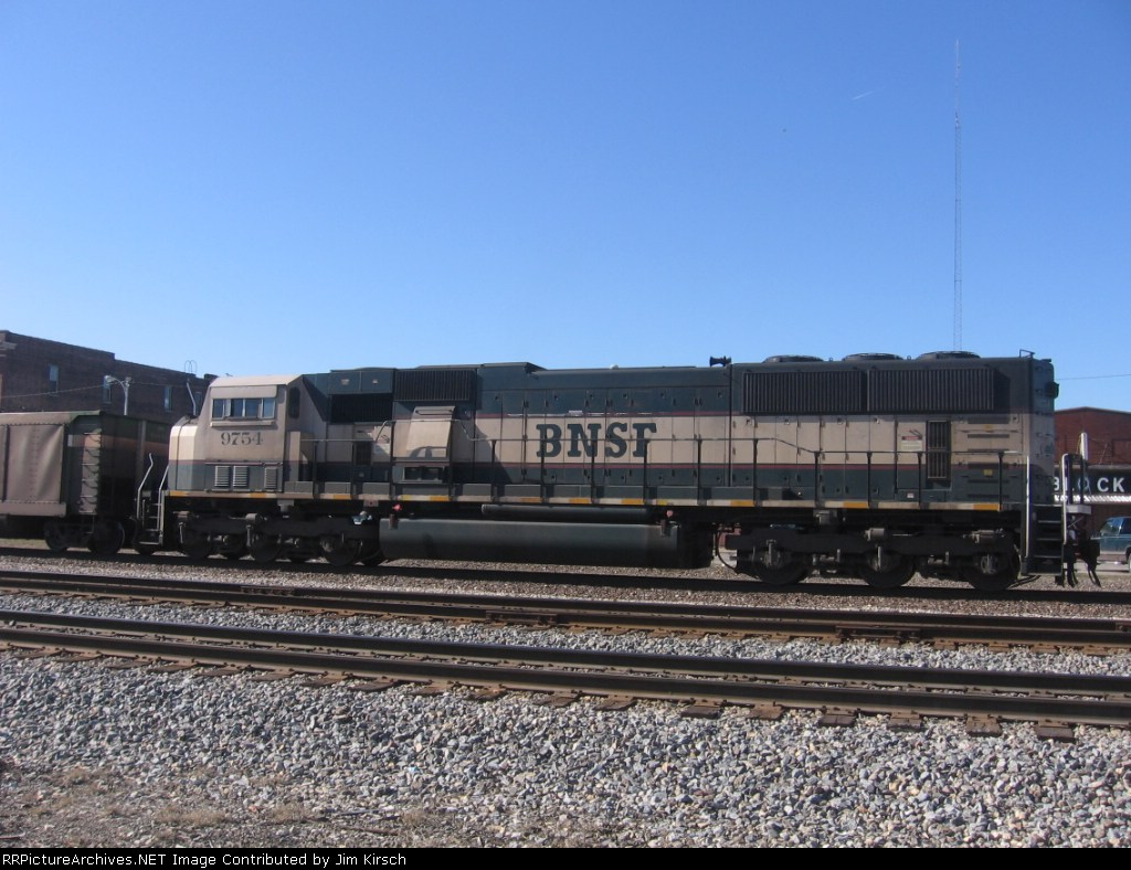 BNSF 9754