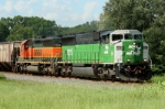 K837 w/BNSF 9225
